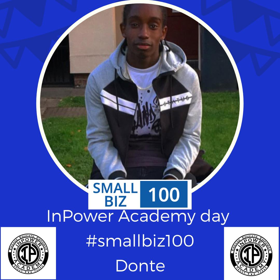 Donte – #SmallBiz100