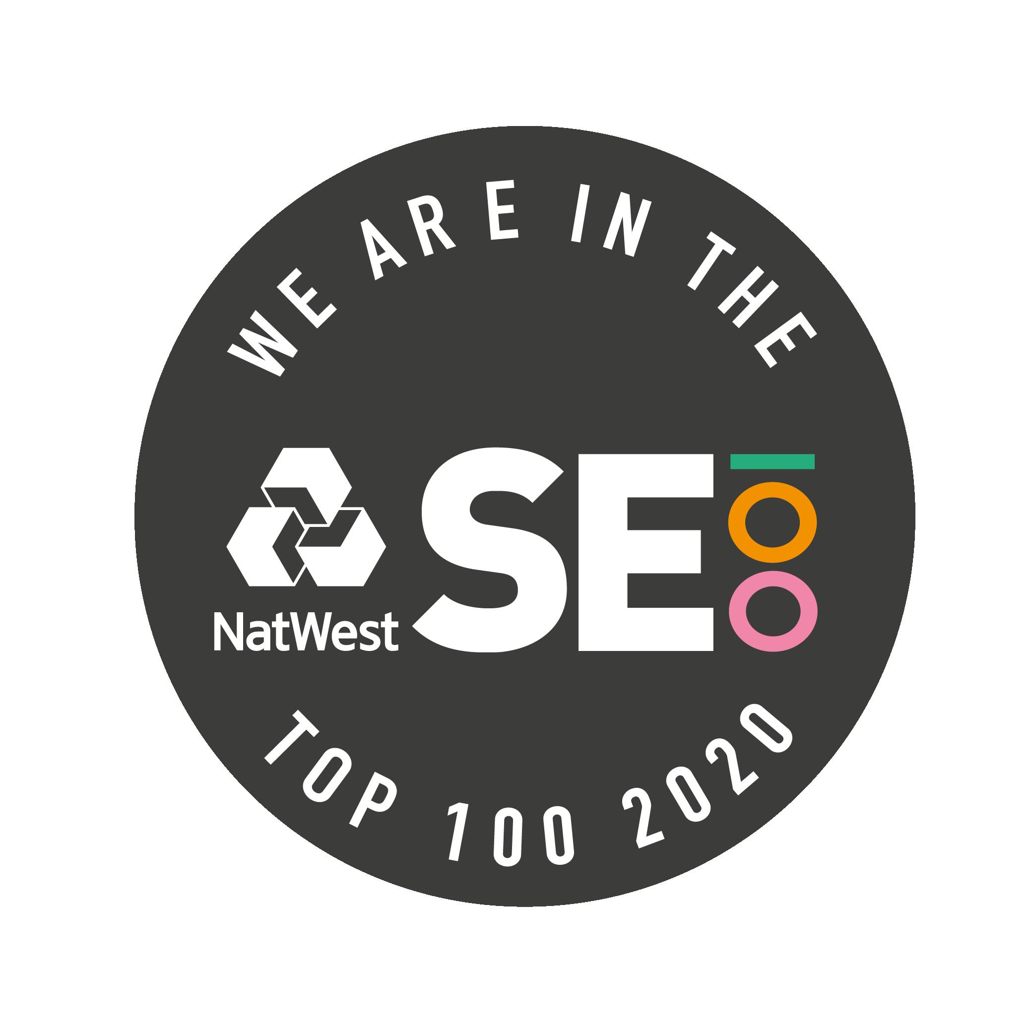We are amongst the top 100 social enterprises